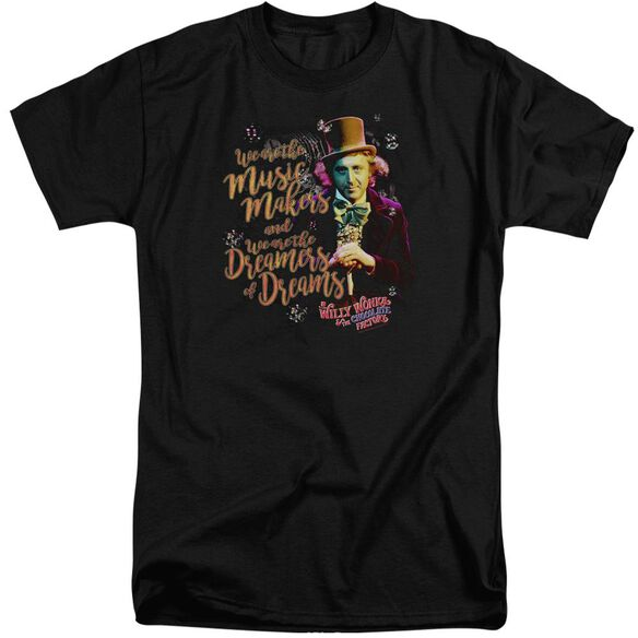 Willy Wonka And The Chocolate Factory Music Makers Short Sleeve Adult Tall T-Shirt