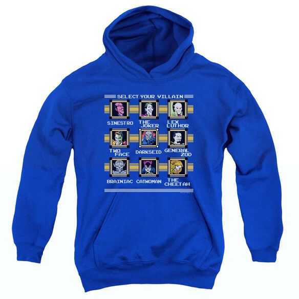Dc Stage Select-youth Pull-over Hoodie - Royal