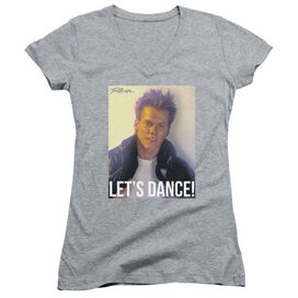 Footloose Lets Dance Junior V Neck Athletic T-Shirt