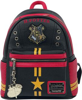 Loungefly Harry Potter Quidditch Uni. Faux Leather Backpack Standard