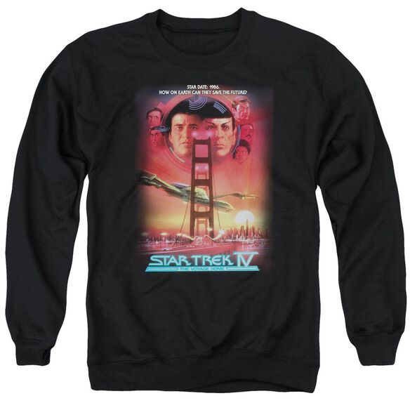 Star Trek The Voyage Home(Movie) Adult Crewneck Sweatshirt