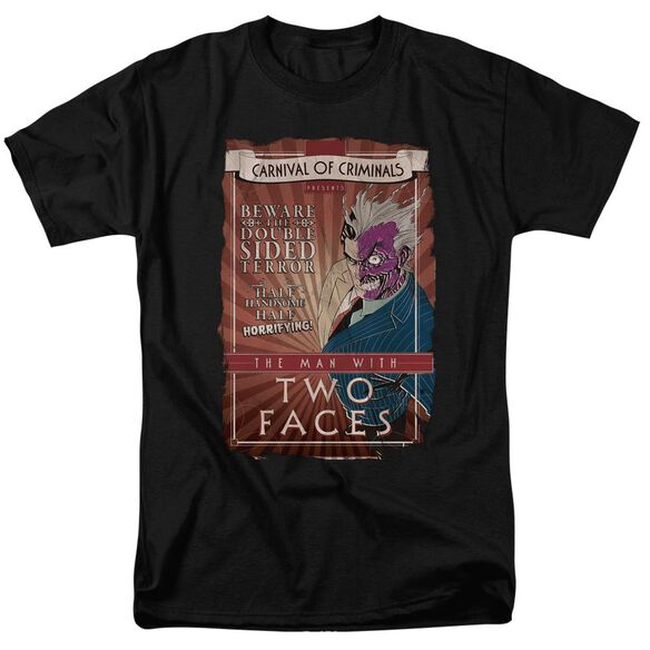 Batman Two Faces Short Sleeve Adult T-Shirt