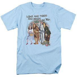 Wizard Of Oz Oh My Short Sleeve Adult Light T-Shirt