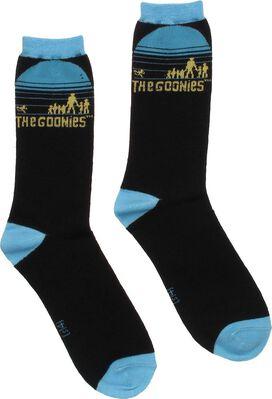 Goonies Silhouette Crew Socks