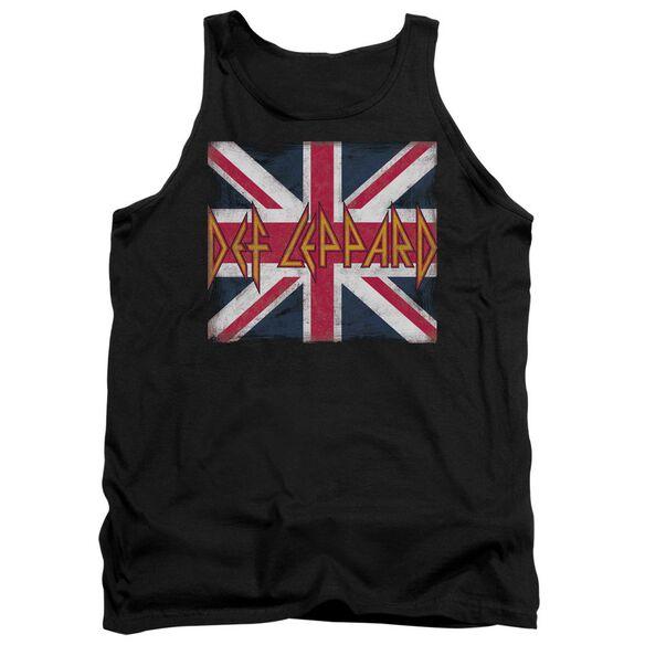 Def Leppard Union Jack Adult Tank