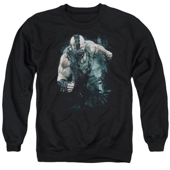 Dark Knight Rises Bane Rain Adult Crewneck Sweatshirt
