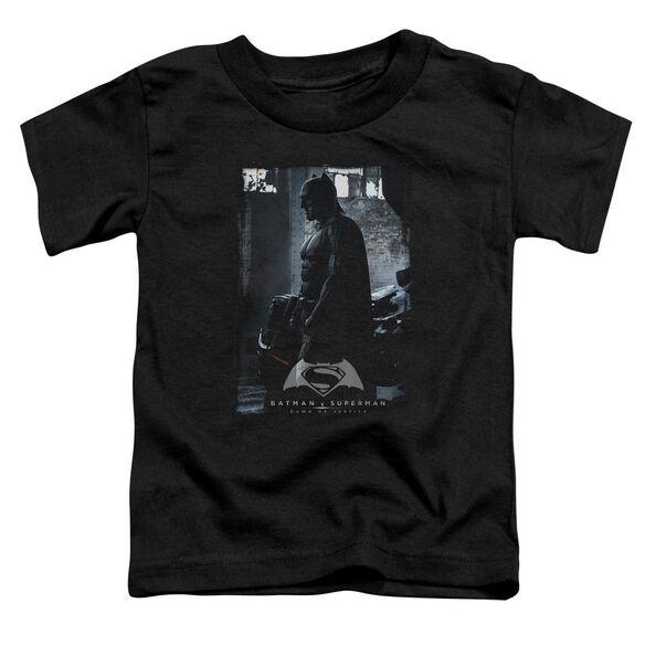 Batman V Superman Bat Poster Short Sleeve Toddler Tee Black T-Shirt