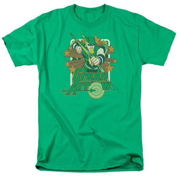 Dc Arrow Stars Short Sleeve Adult Kelly T-Shirt