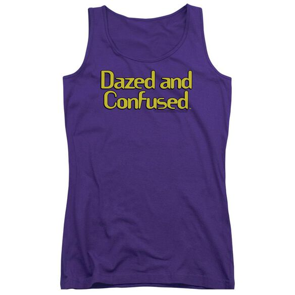 Dazed And Confused Dazed Logo Juniors Tank Top