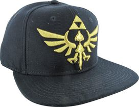 Zelda Embroidered Gold Crest Snapback Hat
