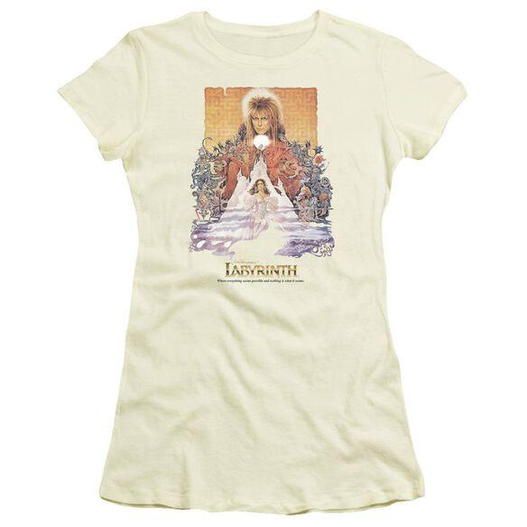 Labyrinth Movie Poster Short Sleeve Junior Sheer T-Shirt