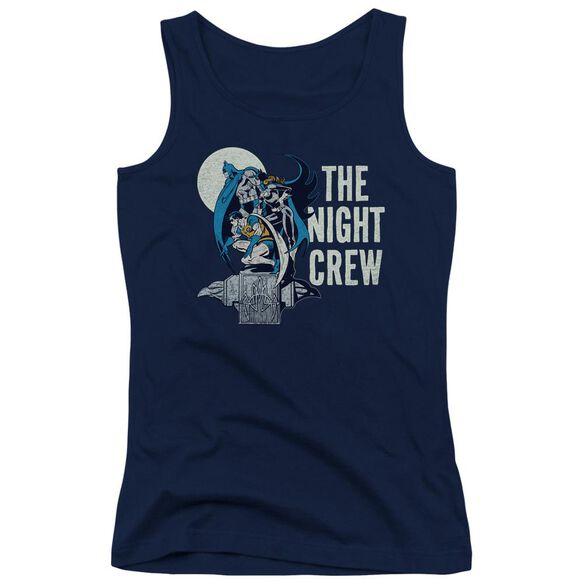 Dc Night Crew - Juniors Tank Top - Navy
