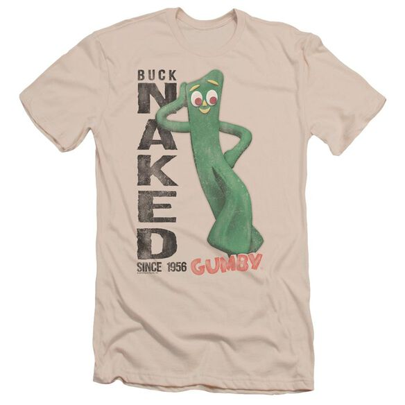 Gumby Buck Naked Short Sleeve Adult T-Shirt
