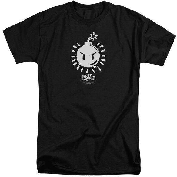 Scott Pilgrim Sex Bob Omb Logo Short Sleeve Adult Tall T-Shirt