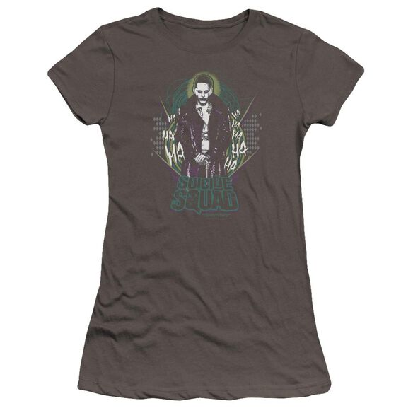 Suicide Squad Suicide Joker Premium Bella Junior Sheer Jersey
