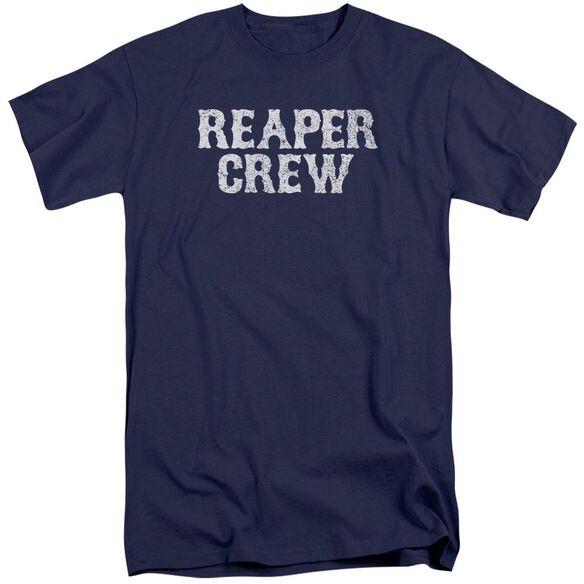 Sons Of Anarchy Reaper Crew Short Sleeve Adult Tall T-Shirt