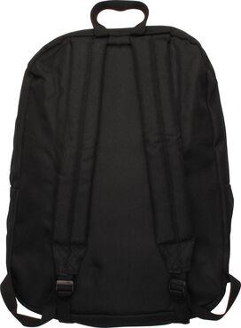 Superman Distressed Logo Black Backpack