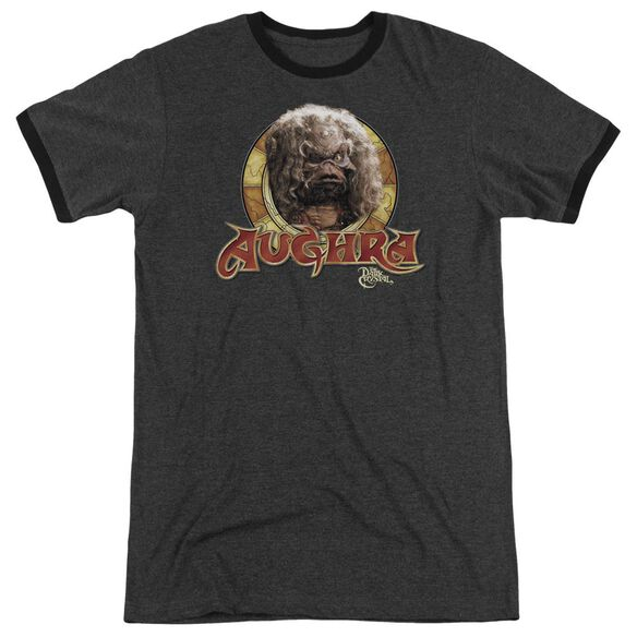 Dark Crystal Aughra Circle Adult Heather Ringer Charcoal