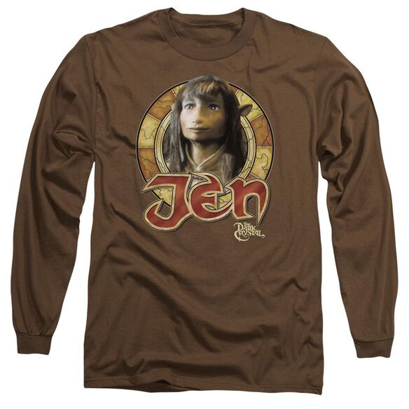 Dark Crystal Jen Circle Long Sleeve Adult T-Shirt