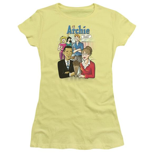 Archie Comics Anything's Possible Short Sleeve Junior Sheer T-Shirt