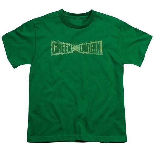 Lantern Flame Logo Short Sleeve Youth Kelly T-Shirt