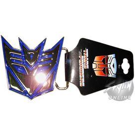 Transformers Decepticon Silver Buckle