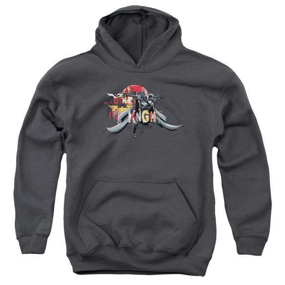 Dark Knight Rises Gothic Knight Youth Pull Over Hoodie