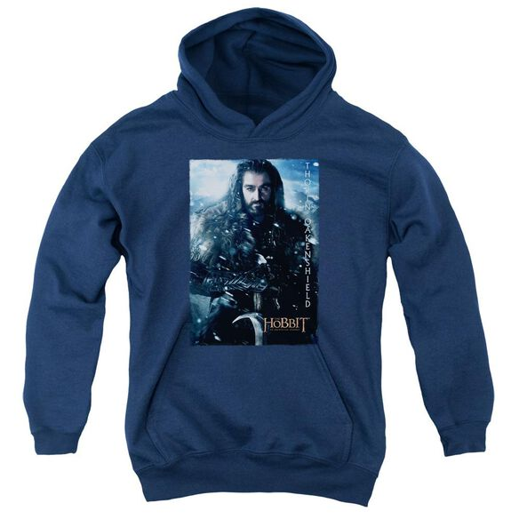 The Hobbit Thorin Poster Youth Pull Over Hoodie