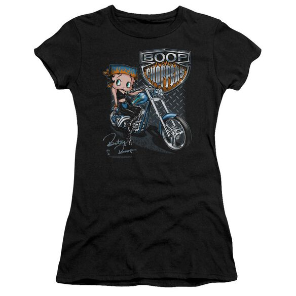 Betty Boop Choppers Premium Bella Junior Sheer Jersey