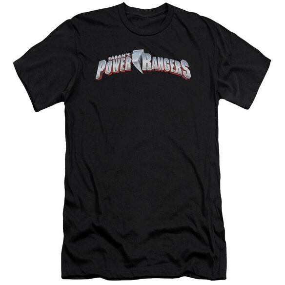 Power Rangers New Logo Short Sleeve Adult T-Shirt