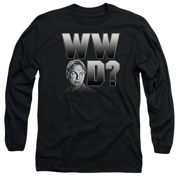 Ncis What Would Gibbs Do Long Sleeve Adult T-Shirt