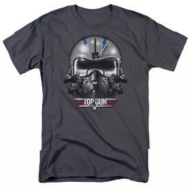 TOP GUN ICEMAN HELMET - S/S ADULT 18/1 T-Shirt