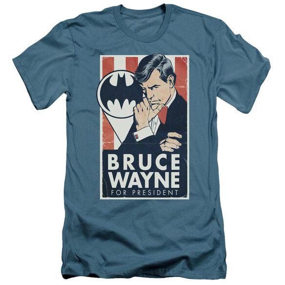 Batman Wayne For President Short Sleeve Adult T-Shirt