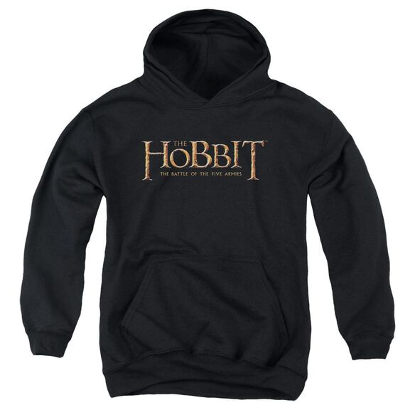 Hobbit Logo Youth Pull Over Hoodie