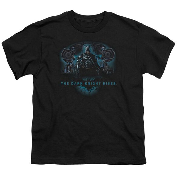 Dark Knight Rises Gothams Dark Knight Short Sleeve Youth T-Shirt