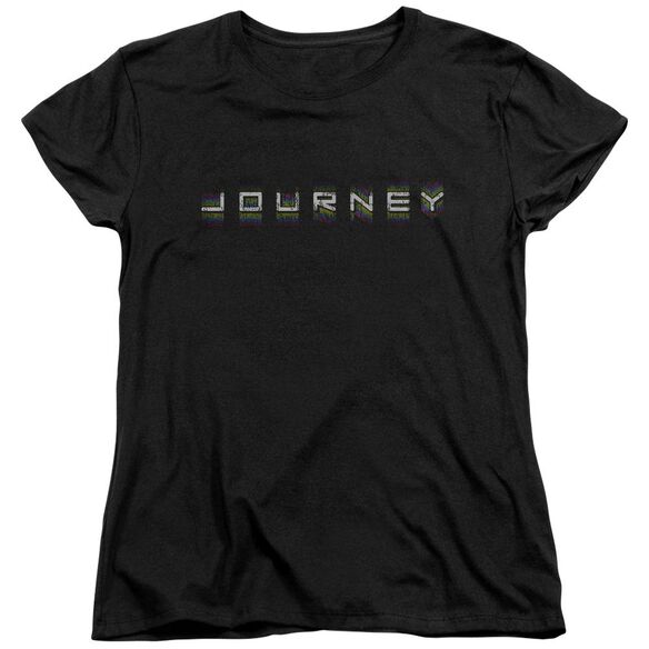 Journey Repeat Logo Short Sleeve Womens Tee T-Shirt