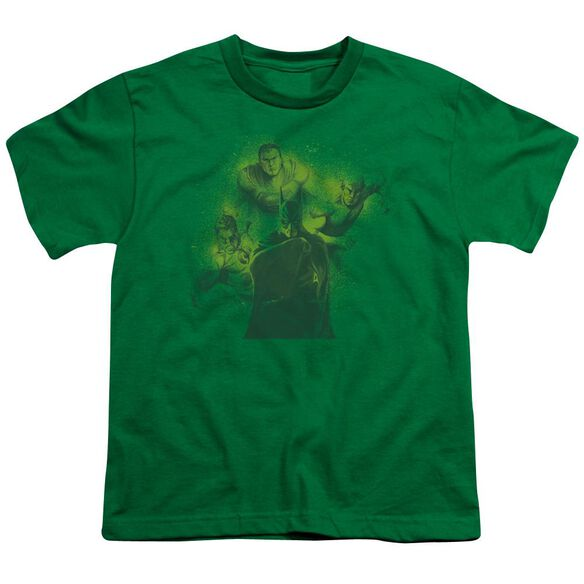 DCO SPRAY SKETCH LEAGUE - S/S YOUTH 18/1 - KELLY GREEN T-Shirt