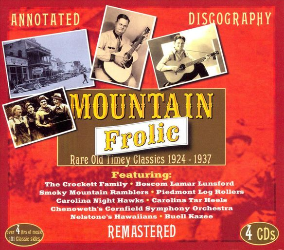 Mountain Frolic(4 Cd) 0408