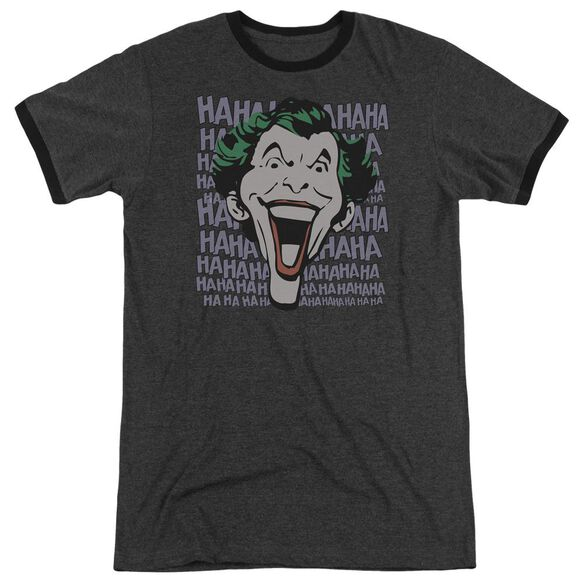 Dc Dastardly Merriment Adult Heather Ringer Charcoal