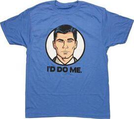 Archer I'd Do Me T-Shirt Sheer