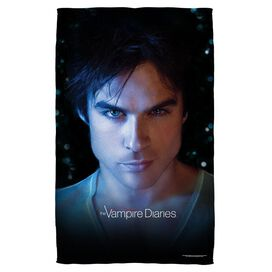 Vampire Diaries Damon Eyes Beach Towel