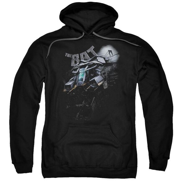 Dark Knight Rises Patrol The Skies Adult Pull Over Hoodie