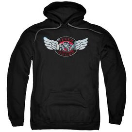Reo Speedwagon Rendered Logo Adult Pull Over Hoodie