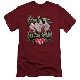 I Love Lucy Dear Santa Short Sleeve Adult T-Shirt