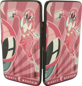 Power Rangers Pink Art Deco Clutch Wallet