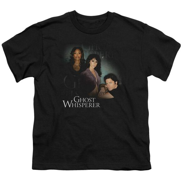 Ghost Whisperer Diagonal Cast Short Sleeve Youth T-Shirt