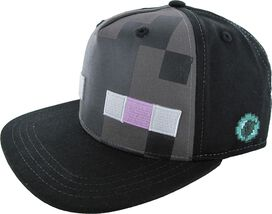 Minecraft Enderman Mob Snapback Youth Hat