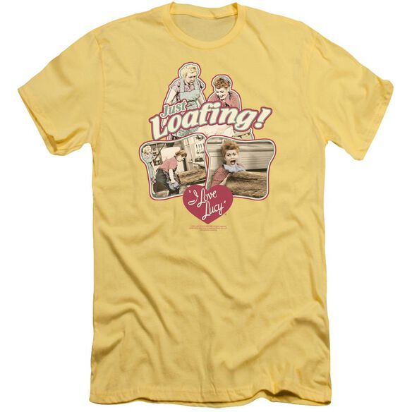 I Love Lucy Just Loafing Short Sleeve Adult T-Shirt