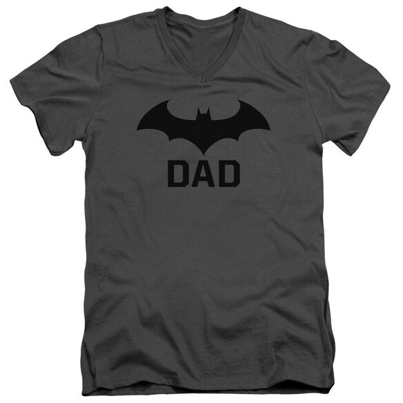 Batman Hush Dad Short Sleeve Adult V Neck T-Shirt