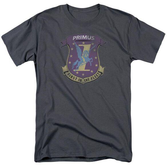 BSG PRIMAS BADGE - S/S ADULT 18/1 - CHARCOAL T-Shirt